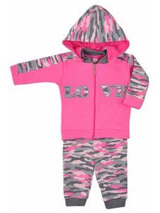d98ff6422825 2-dielna bavlnená kojenecká súprava Koala Army - Ružová