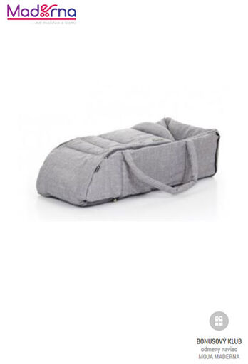 ABC Design taška na dieťa Carry Soft Wowen Grey