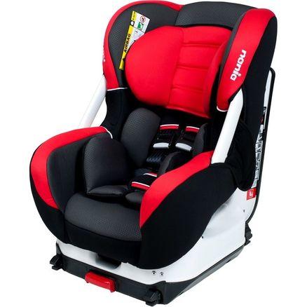 Autosedačka Nania Eris Isofix Premium red - Červená