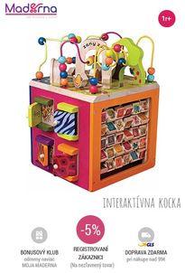 b-toys-interaktivna kocka zany zoo
