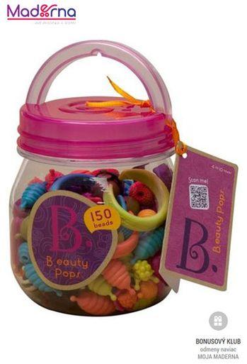 B-toys spojovacie korále a tvary BEAUTY POPS 150ks