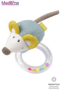 BABY FEHN Little Castle hrkálka myš