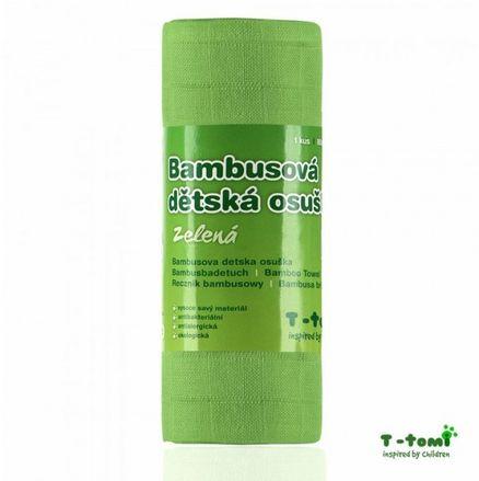 Bambusové osušky T-tomi rôzne farby
