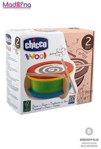 chicco Drevená hračka bubon