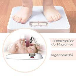 REER - Detská digitálna váha s melódiami