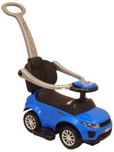 Detské hrajúce vozítko 3v1 Baby Mix modré - Modrá
