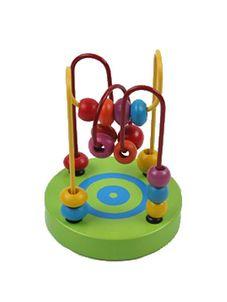 Drevená edukačná hračka - Zelená