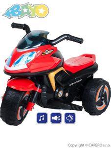 Elektrická motorka BAYO KICK red - Červená