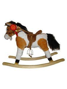 Hojdací koník Milly Mally Jurášek svetlo hnedý - Hnedá