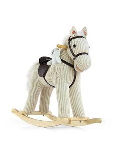 Hojdací koník Milly Mally Pony bežový - Béžová