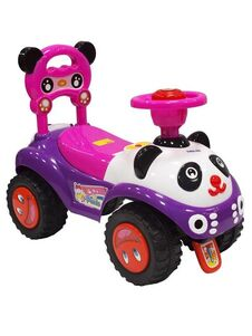 Jezdítko Panda Baby Mix pink - Ružová