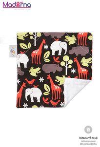 Lalalu Baby Elephant Ears (Prikrývka Slonie uši) - Zoology