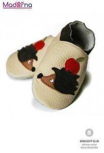 Liliputi capačky pre deti ježko