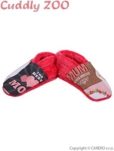Papučky Cuddly Zoo Mama M - Koralová