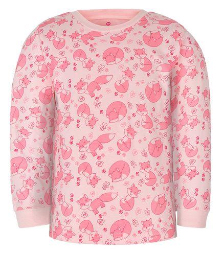 PRIMA-pyžamo dvoudílné LIŠKA A růžová 080