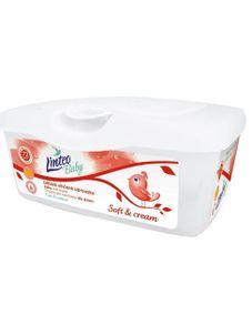 Vlhčené obrúsky Linteo Baby 72 ks Soft and cream BOX - Podľa obrázku