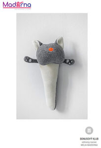 Wooly organic funky cat hrkálka