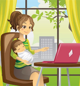 blogerka mirka testuje vyrobky pre mamičky i babetko