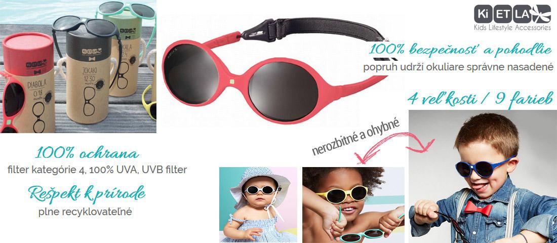 Slnečné okuliare pre bábätko - až 90% UVA - MADERNA - Bábätko svet 22d17294dc0