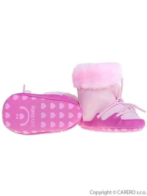 f5fbd9dee Detské zimné capáčky Bobo Baby 6-12m ružové - Ružová - MADERNA.sk