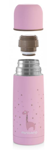 Miniland Termoska Silky Pink 350ml - MADERNA.sk f0c3e116f69