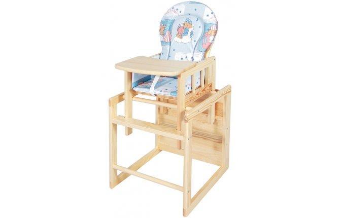 8c6876e5d125 Drevená stolička kombi masív borovica Scarlett - MADERNA.sk
