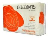 Cottons Vložky po pôrode s krídelkami 10 kusov