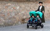 CASUALPLAY - Playxtrem športový kočík pre dvojičky a súrodencov a 2 x prenosná vanička Baby Twin