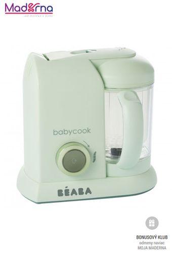 Beaba Parný varič + mixér BABYCOOK Jade Green