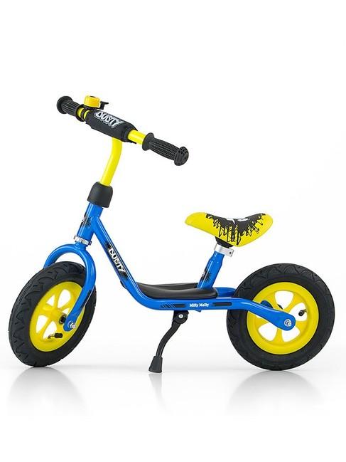 Detské odrážadlo bicykel Milly Mally Dusty blue 10