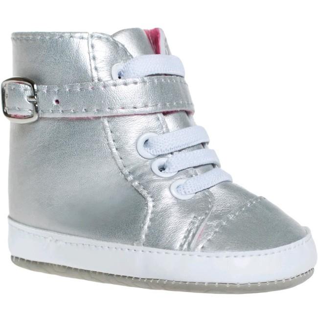 f6b767333d Detské topánočky Bobo Baby 6-12m strieborné - Strieborná - MADERNA.sk