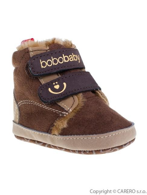 Detské zimné capáčky Bobo Baby 6-12m tmavo hnedé - Hnedá - MADERNA.sk 5f803439aa9