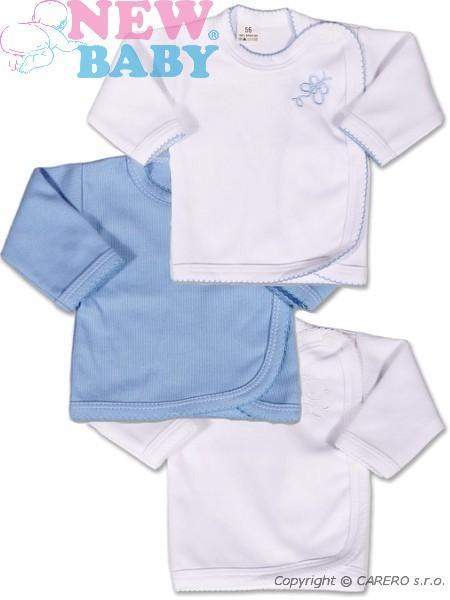 306c3128cc39 Dojčenská košieľka New Baby Classic 3ks - Modrá - MADERNA.sk