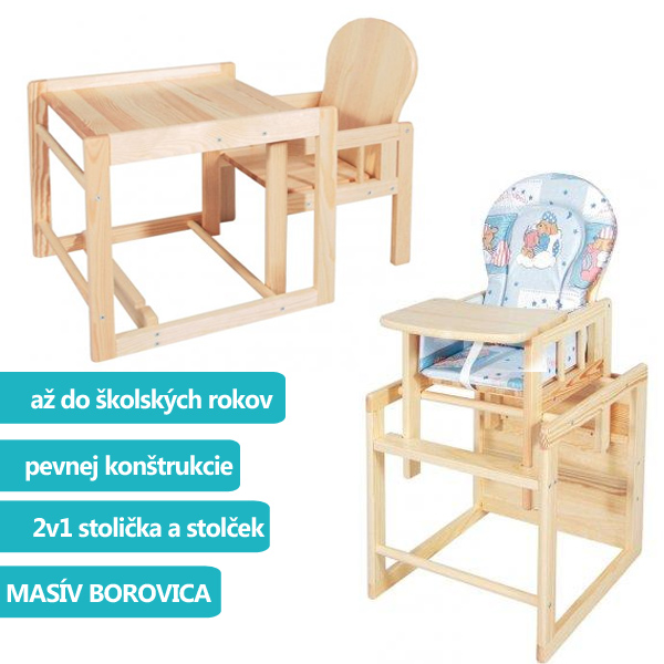 6619177eacdb9 Drevená stolička kombi masív borovica Scarlett - MADERNA.sk