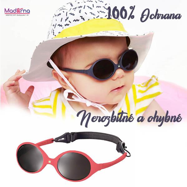 18bca6923 Slnečné okuliare pre bábätko. KiETLA - Slnečné okuliare Diabola 0-18m  zväčšiť obrázok