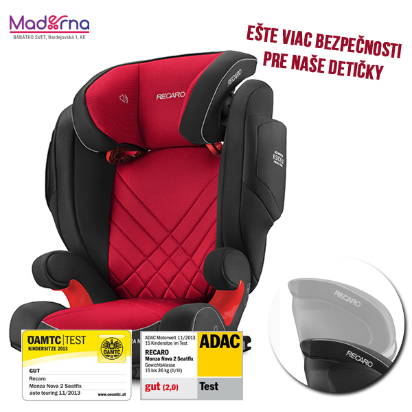 recaro monza nova 2 seatfix 2017 z ava pri registr ci. Black Bedroom Furniture Sets. Home Design Ideas