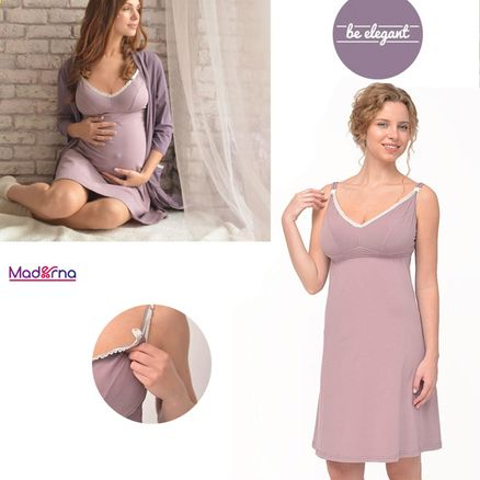 MAMIN DOM Nočná košeľa DREAMY pre tehotné a dojčiace mamičky