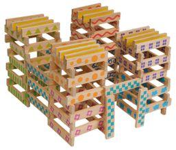 100 dielna drevená stavebnica Boikido