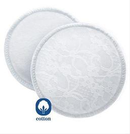 AVENT - Absorpčné vložky bavlnené - pracie 6 ks