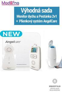 AngelCare 403 monitor dychu i zvuku 2v1 + Plienkový koš Captiva
