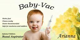 Arianna Baby-Vac 1 odsávačka hlienov