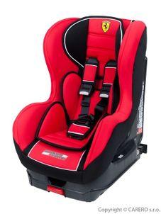 Autosedačka Cosmo Sp Isofix Corsa Ferrari Red - Červená