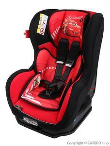 Autosedačka Nania Cosmo Lx Cars Red 2016 - Červená