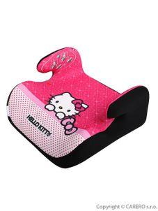 Autosedačka-podsedák Nania Topo Comfort Hello Kitty 2015 - Ružová