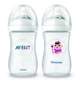 AVENT - Fľaša 260ml Natural PP+ povolanie PRINCEZNÁ