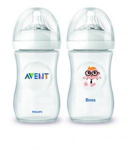 AVENT - Fľaša 260ml Natural PP+ povolanie ŠÉF