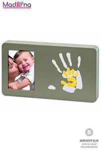 Baby art rámček Duo Paint Print Frame Taupe