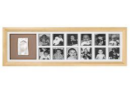 BABY ART - Rámik 1st Year Print Frame Natural