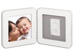Baby Art Rámik Print Frame - biela/sivá