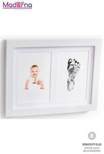 Baby Dab Dvojrámik s BABY DAB odtlačkovými farbami